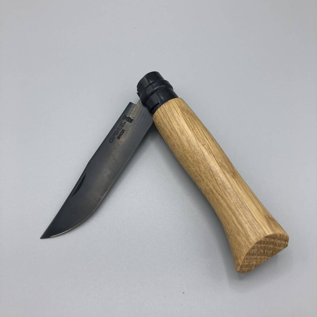 Opinel No 8 Folding Knife: Black Edition