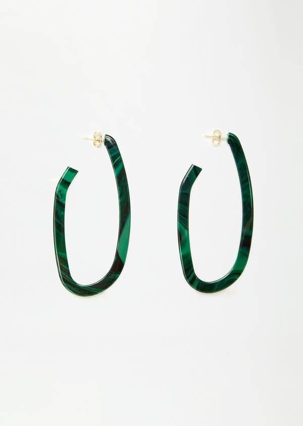 Rachel Comey Rachel Comey Maya Earrings: Malachite