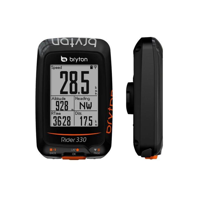 Bryton Rider 330 GPS cycle computer