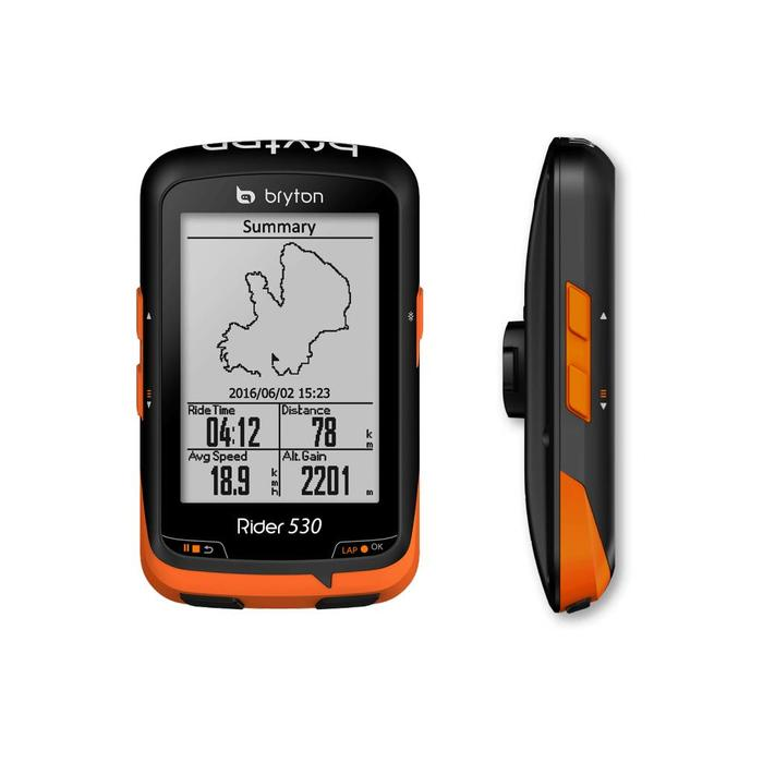 Bryton Rider 530 GPS cycle computer