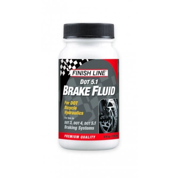 DOT Brake Fluid 4oz Big Mouth