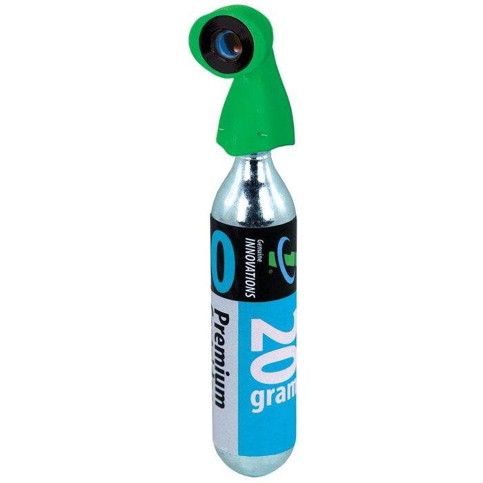 Genuine Innovations, Microflate Green Nano, CO2 inflator