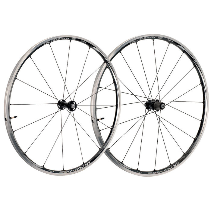 Dura-Ace WH-9000-C24-TL 24mm Carb. Clinch. Tubeless PAIR