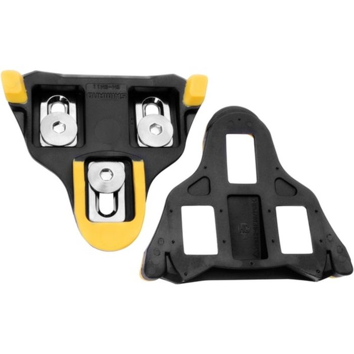 SPD SL CLEAT SET SM-SH11 YELLOW 6 DEGREE PAIR (SELF-ALIGNING MODE)