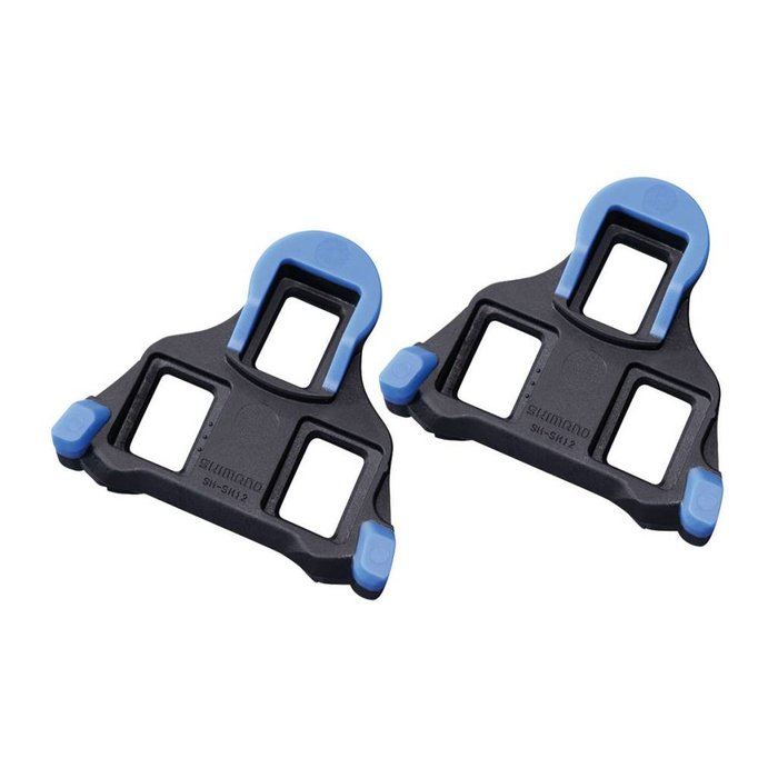 SPD SL CLEAT SET SM-SH12 BLUE 2 DEGREE FRONT CENTER PIVOTING PAIR