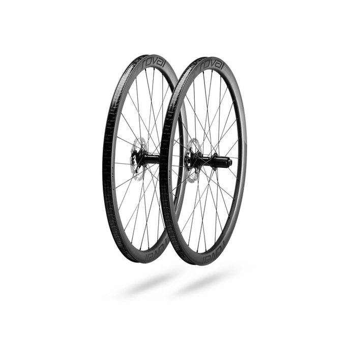 RAPIDE C 38 DISC WHEELSET - Satin Carbon/White
