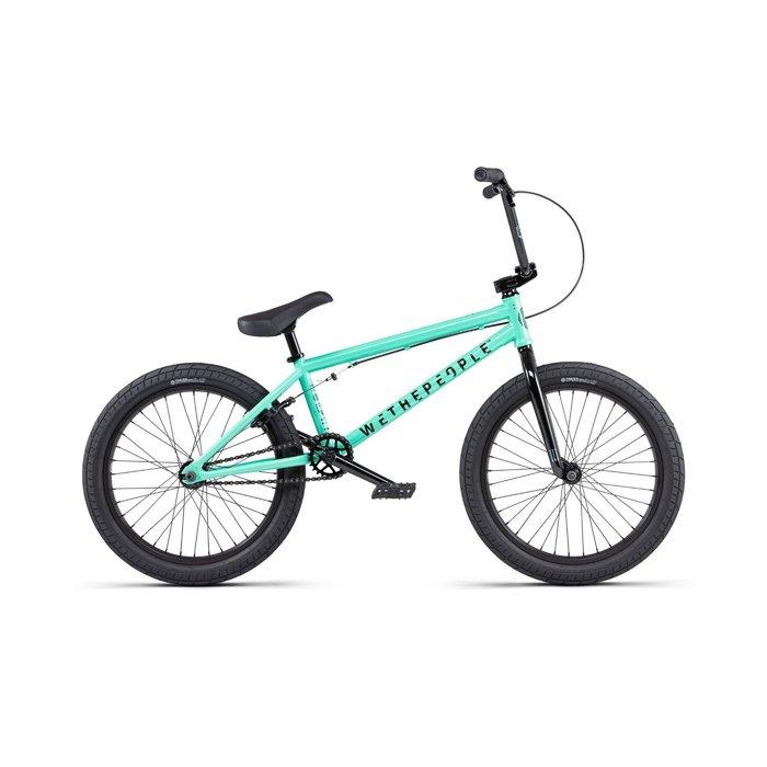 "WTP Curse BMX Bike - 20.25"" TT, Toothpaste Green, Cassette"