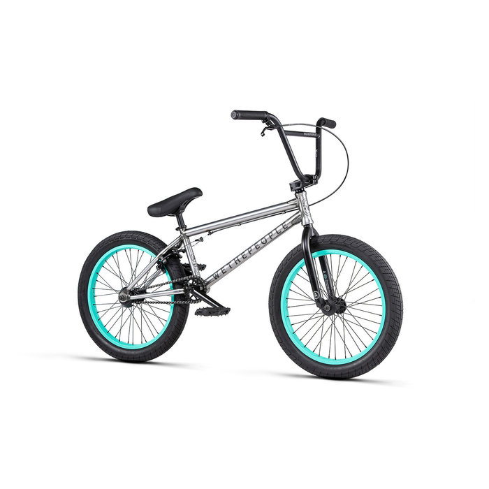"WTP Arcade BMX Bike - 20.5"" TT, Matte Raw"