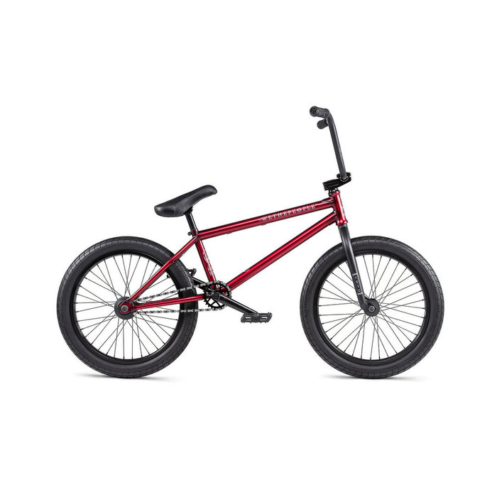 "WTP Justice BMX Bike - 20.75"" TT, Matte Translucent Red"