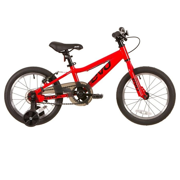 EVO, Rock Ridge 16 1-Speed CB Kid's Bicycle, Fire Engine Red