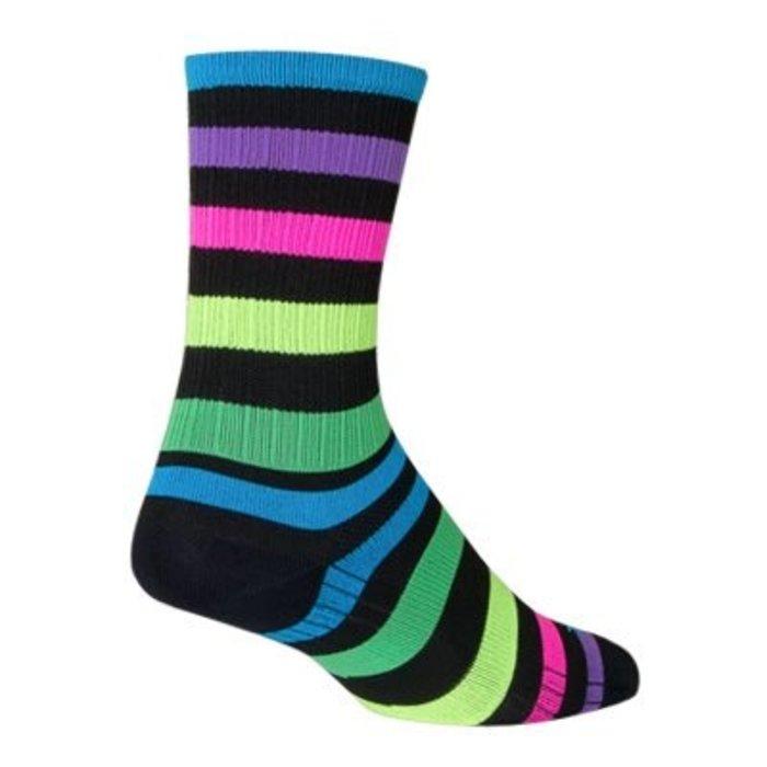 Sock Guy Night Bright Socks