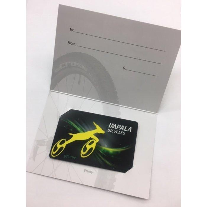 Impala Gift Card
