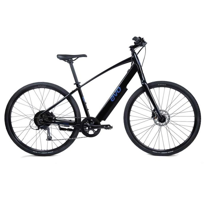 EVO, Bushwick, Electric Bicycle, 700C, Dark Matter, 19''