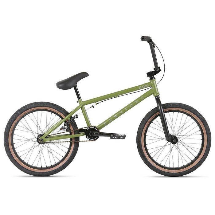 """HARO DOWNTOWN 18"""" MAT ARMY GRN"""