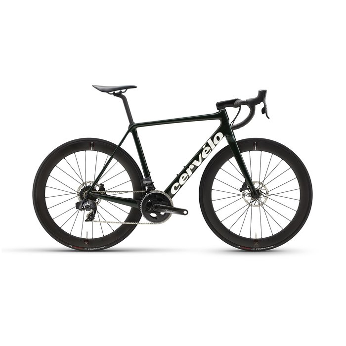 2021 Cervélo R5 Disc SRAM Force eTap AXS  Green/Gold 54