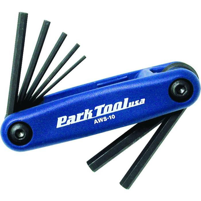 PARK AWS-10 FOLDING HEX WRENCH