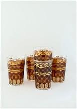 Khmissa Khmissa Amber Gold Detail Glass