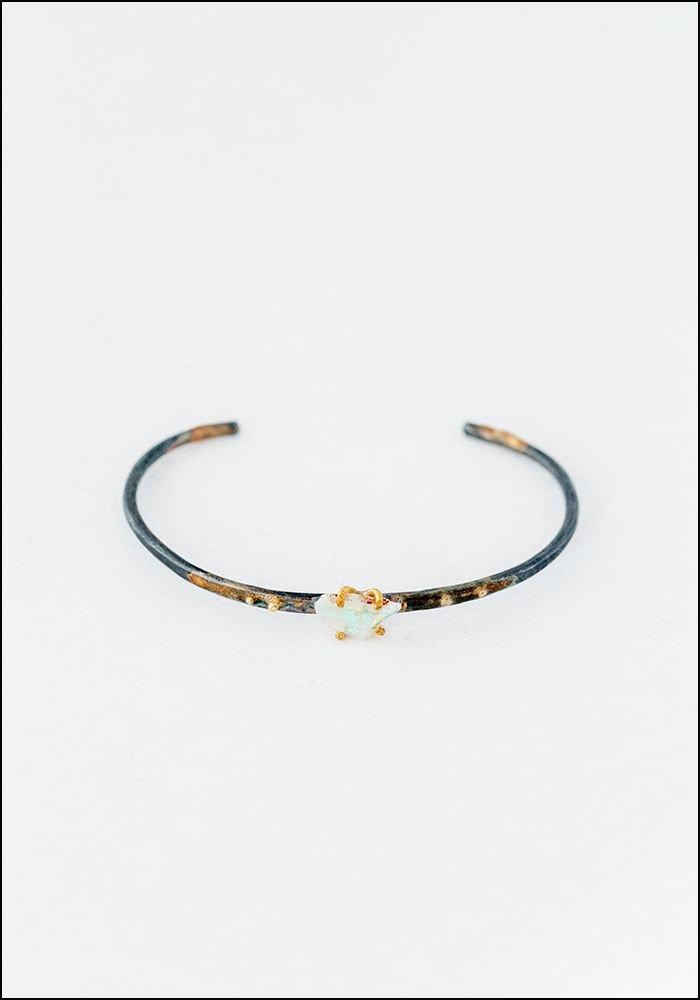 Variance Object Australian Opal Cuff Bracelet