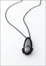 Jacki Holland Jacki Holland Orthoceras Fossil Necklace