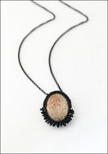 Jacki Holland Jacki Holland Agatized Fossilized Coral Necklace