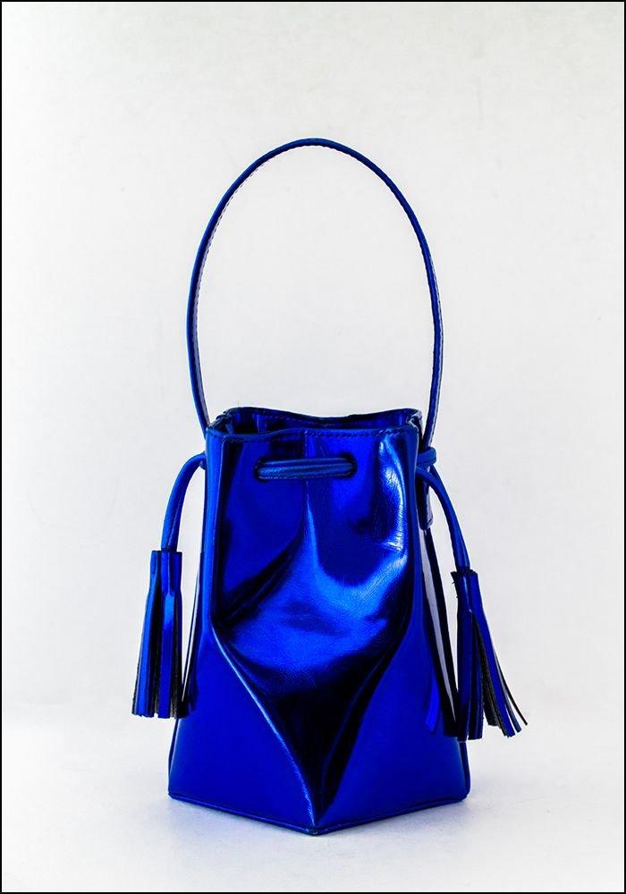 Common Knowledge Common Knowledge Blue Mini Prism Bag