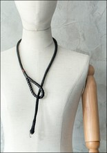 Design Aust Quartz Tip Leather Wrap