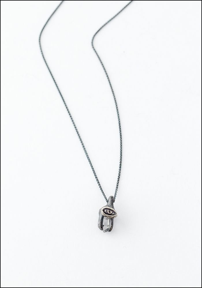 Elaine Ho Elaine Ho Eye Talisman Crystal Necklace