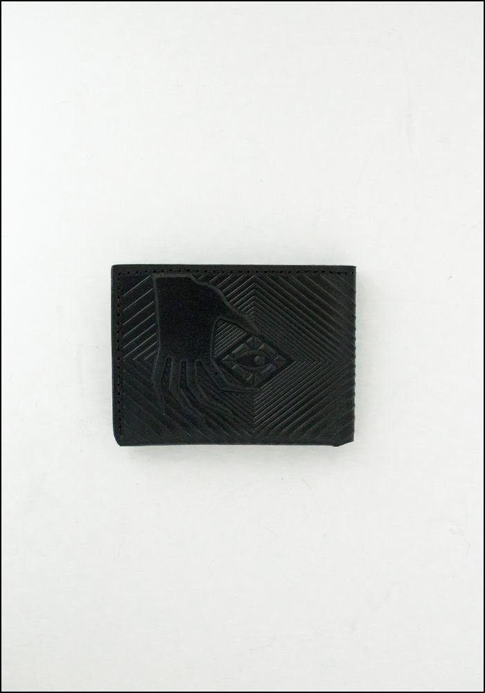 Animal Handmade Animal Handmade Embossed Leather Deep Diver Wallet