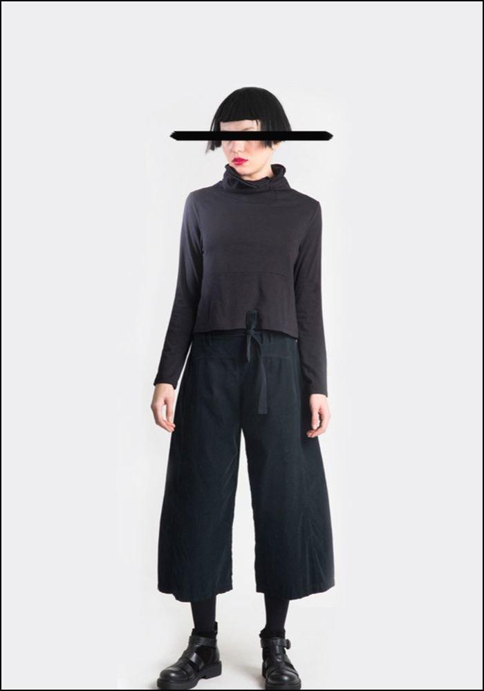 Lurdes Bergada Cropped Corduroy Trousers