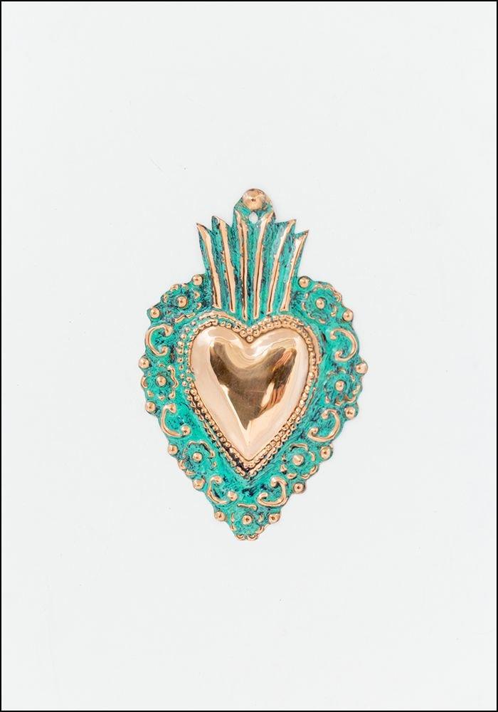 Tesoros Copper Heart Milagro