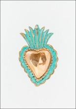 Tesoros Copper Heart Waves Milagro