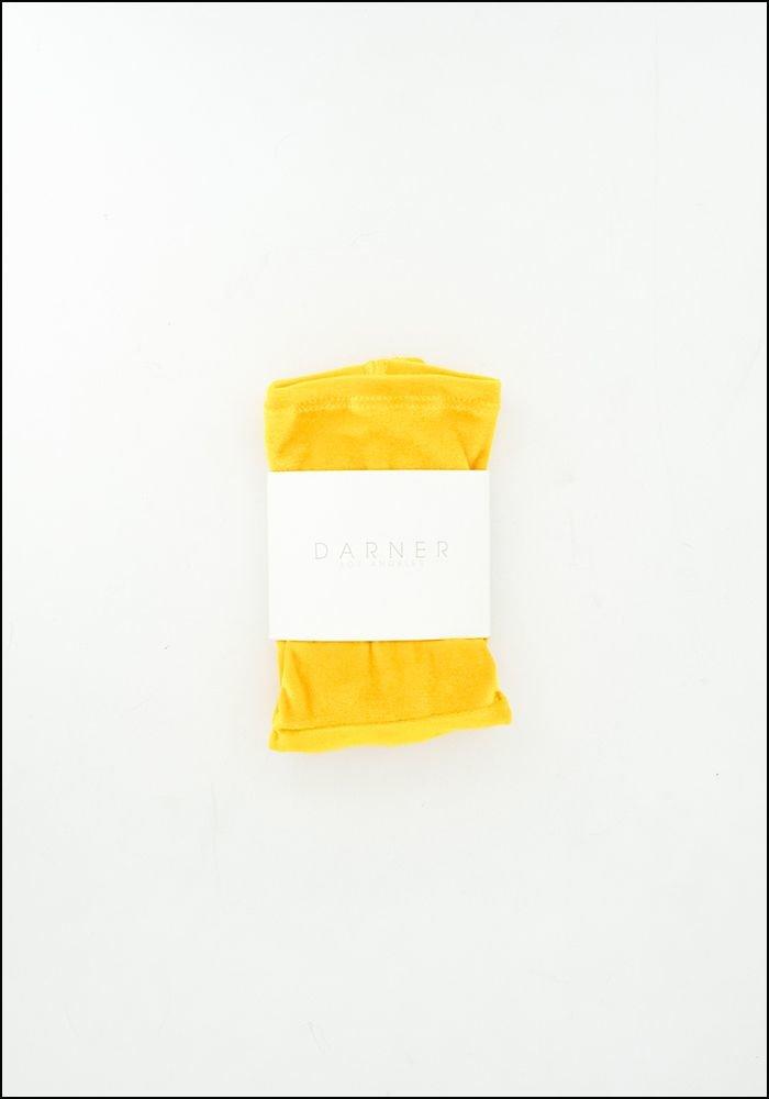 Darner Darner Yellow Velvet Socks