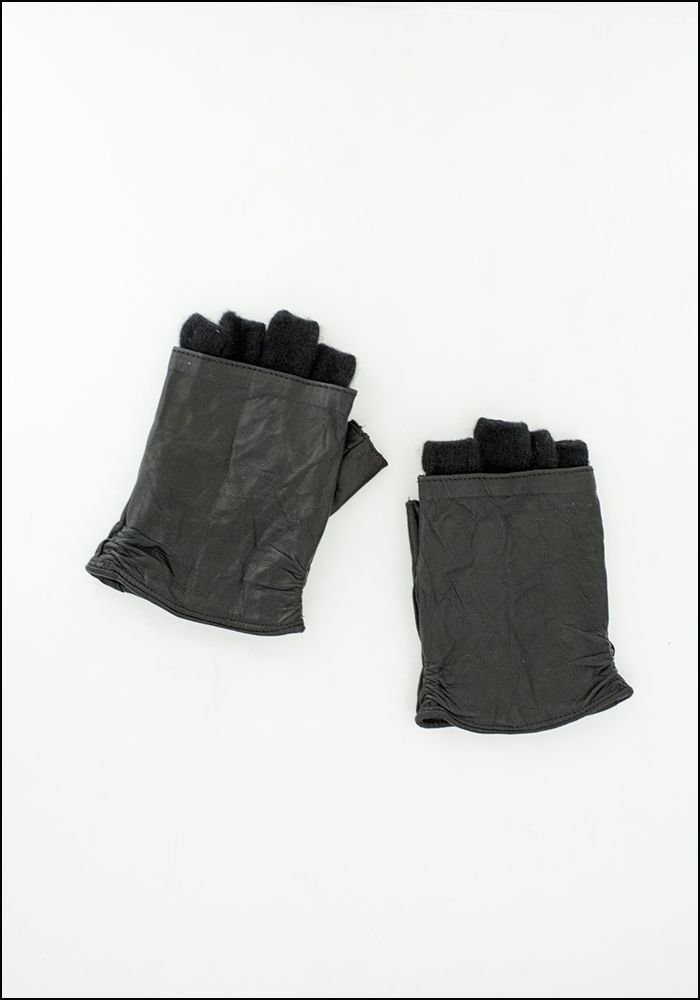 Vivo Italia Vivo Italia Cashmere and Leather Fingerless Glove