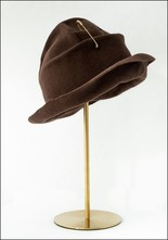 Claudia Schulz Claudia Schulz Hand Formed Hat with Safety Pin