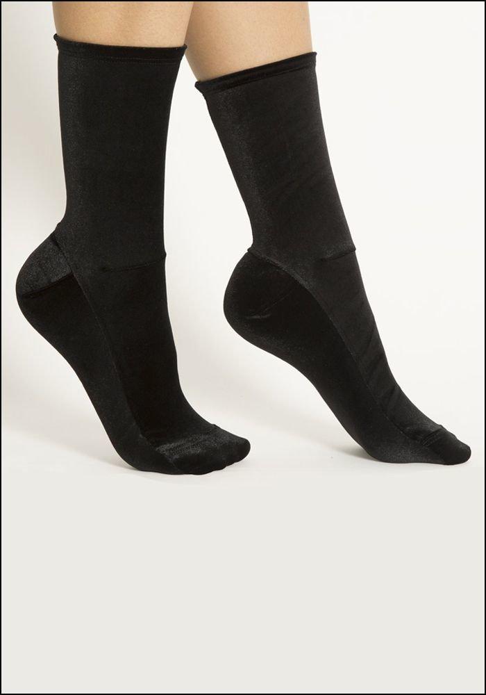 Darner Darner Black Velvet Socks