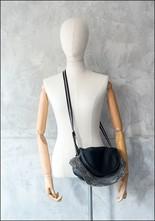Amorphose Amorphose Zipper Detail Leather Bag