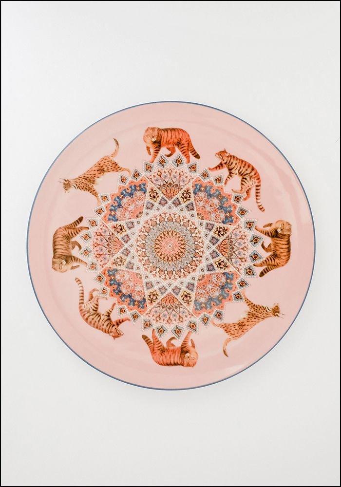 Les Ottomans Porcelain Plate