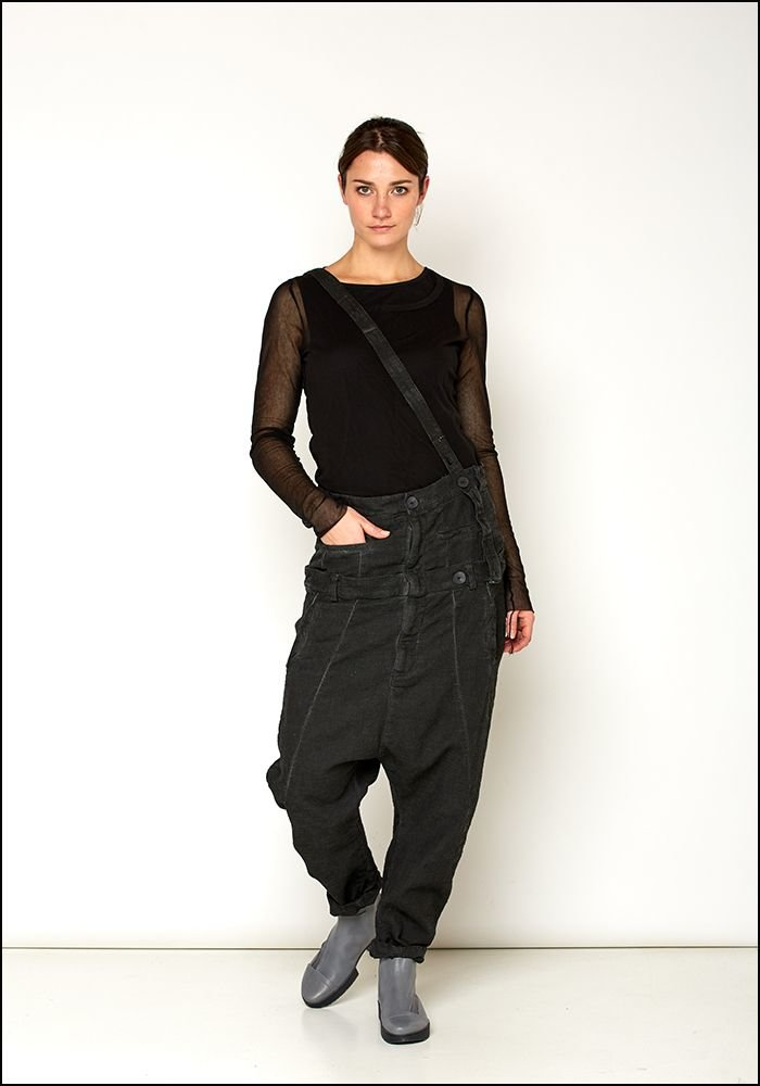 Army of Me Army of Me Dual Waistband Cotton Drop Pants