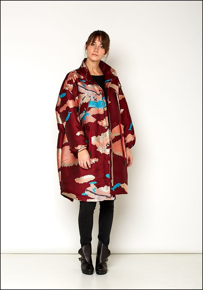 Love Binetti Love Binetti Jacquard Sunset Coat