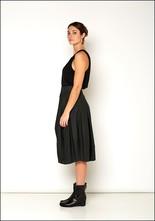 Lurdes Bergada Resin Coated Linen Bubble Skirt