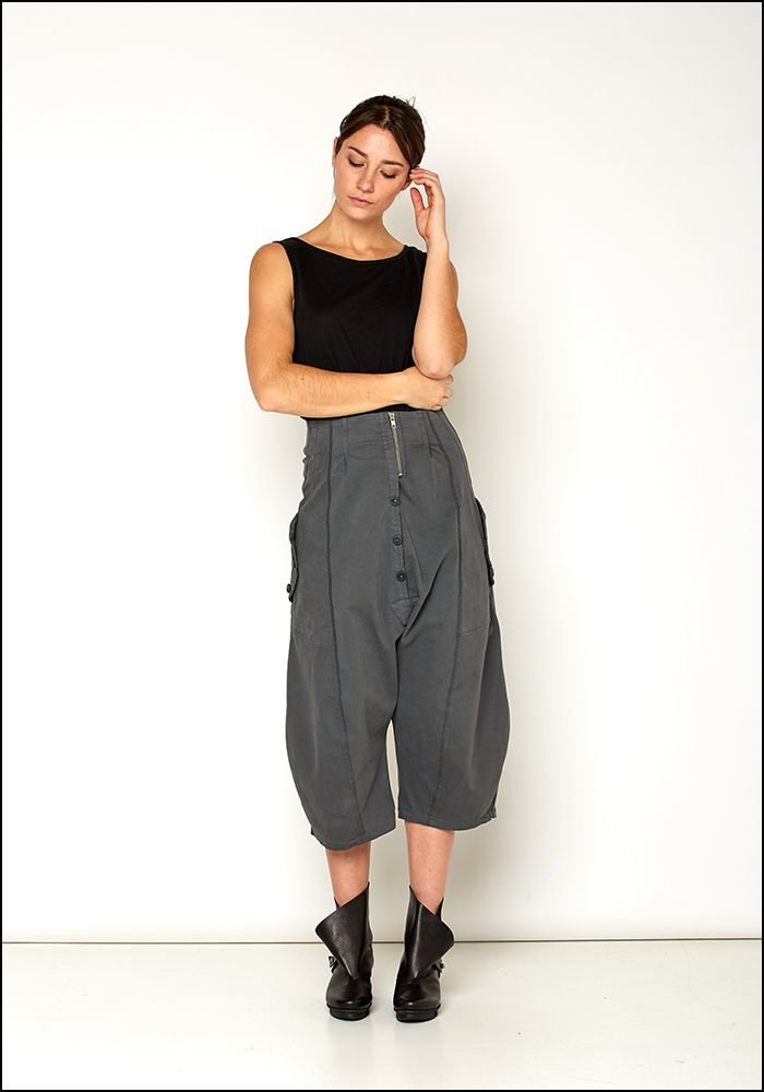 Lurdes Bergada Full Leg Drop Trousers