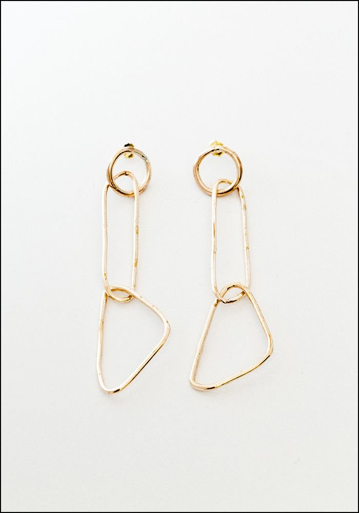 Miriam Nori Delicate Shapes Earrings