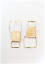 Miriam Nori Alternating Squares Earrings