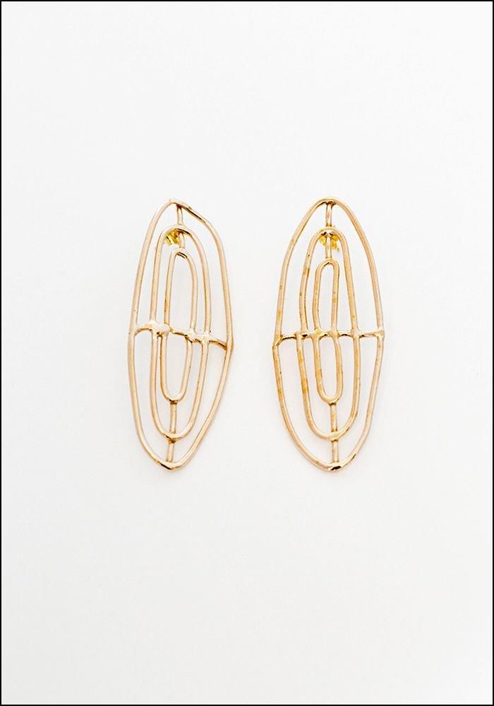 Miriam Nori Cage Earrings