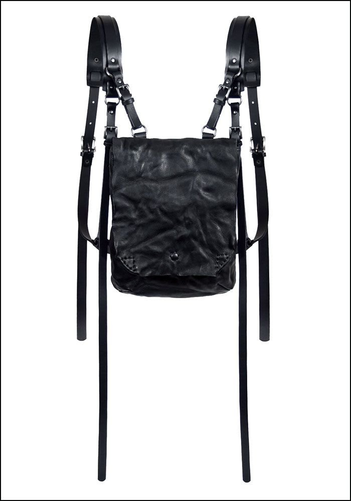 Teo+Ng Leather Backpack