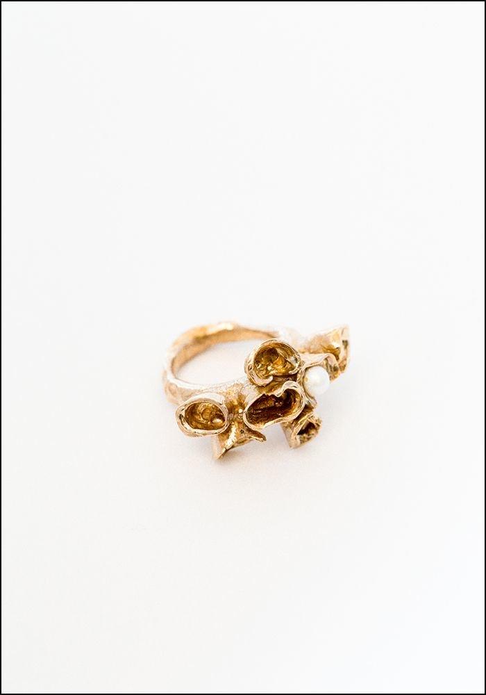 Miriam Nori Hidden Pearl Ring