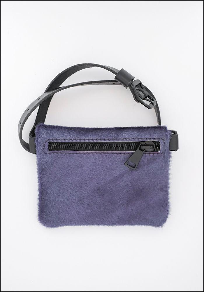 Your Bag of Holding Your Bag Of Holding Purple Hair-on-Hide Belt Bag