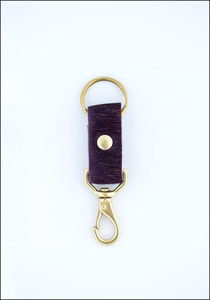 Primecut Cowhide Keychain
