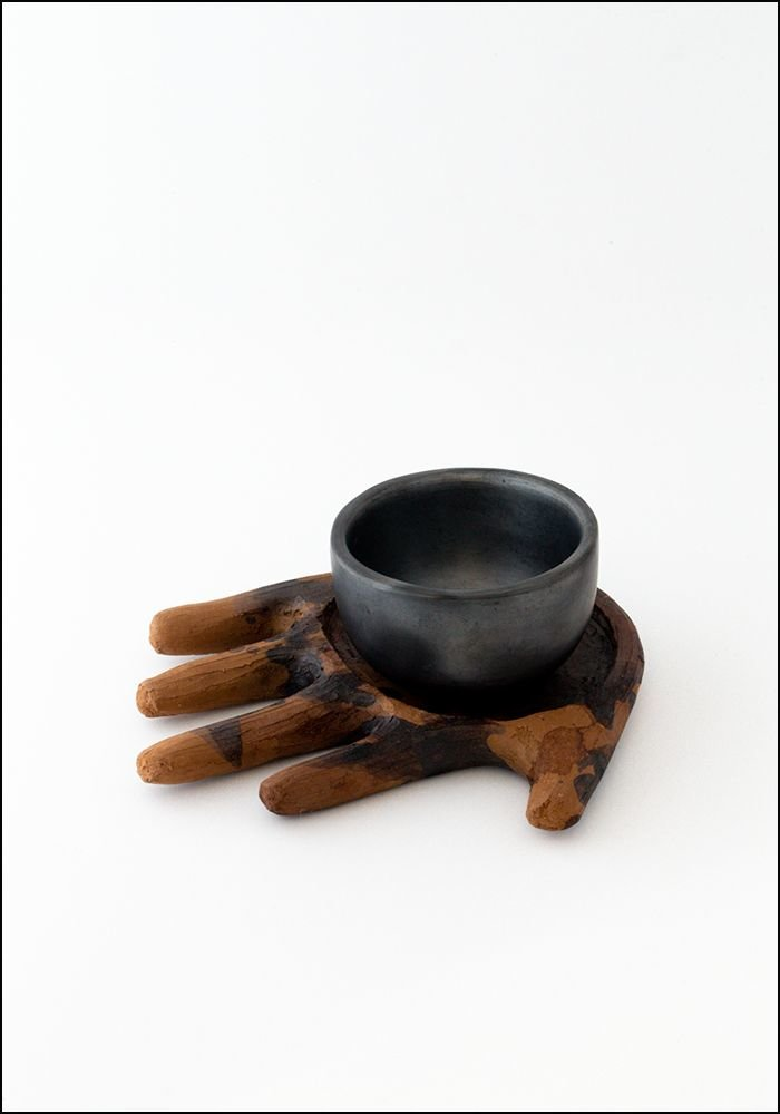 1050 1050 Terracotta Bowl and Hand Dish Set