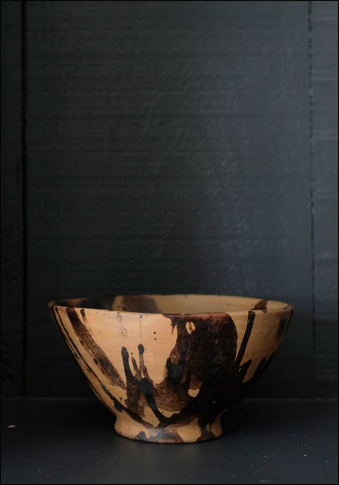 1050 1050 Medium Splatter Terracotta Bowl